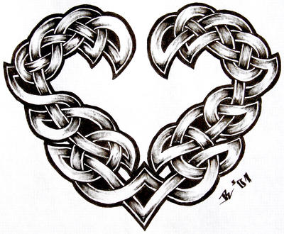 celtic heart by roblfc1892
