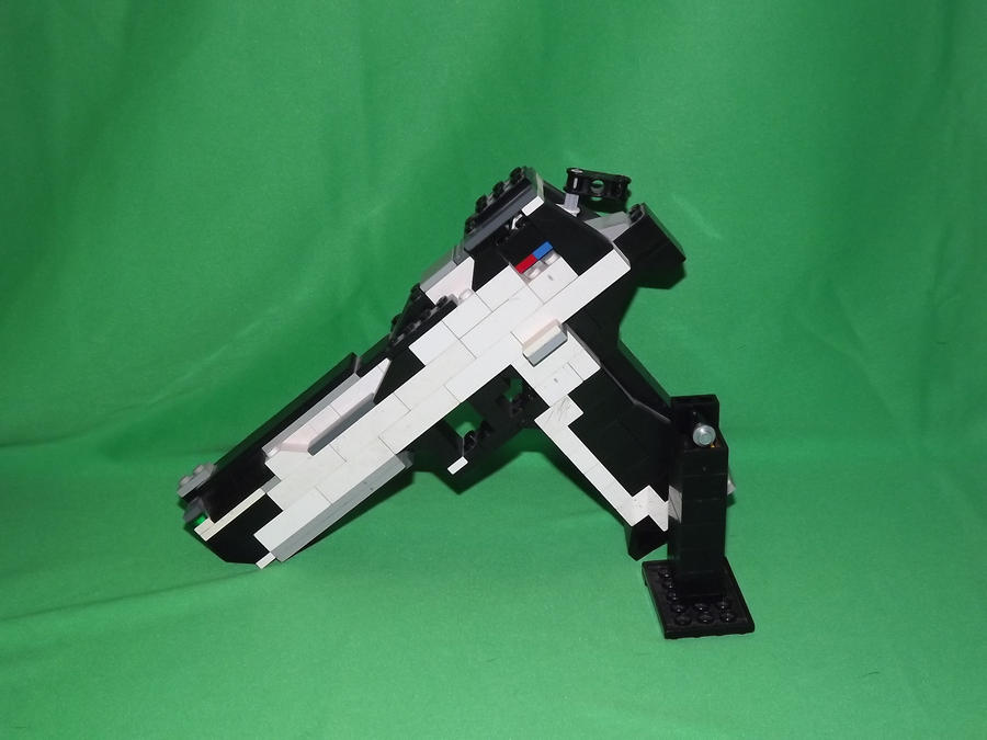 lego desert eagle how to build