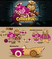 [S] Cookie Run OCs: PB+J