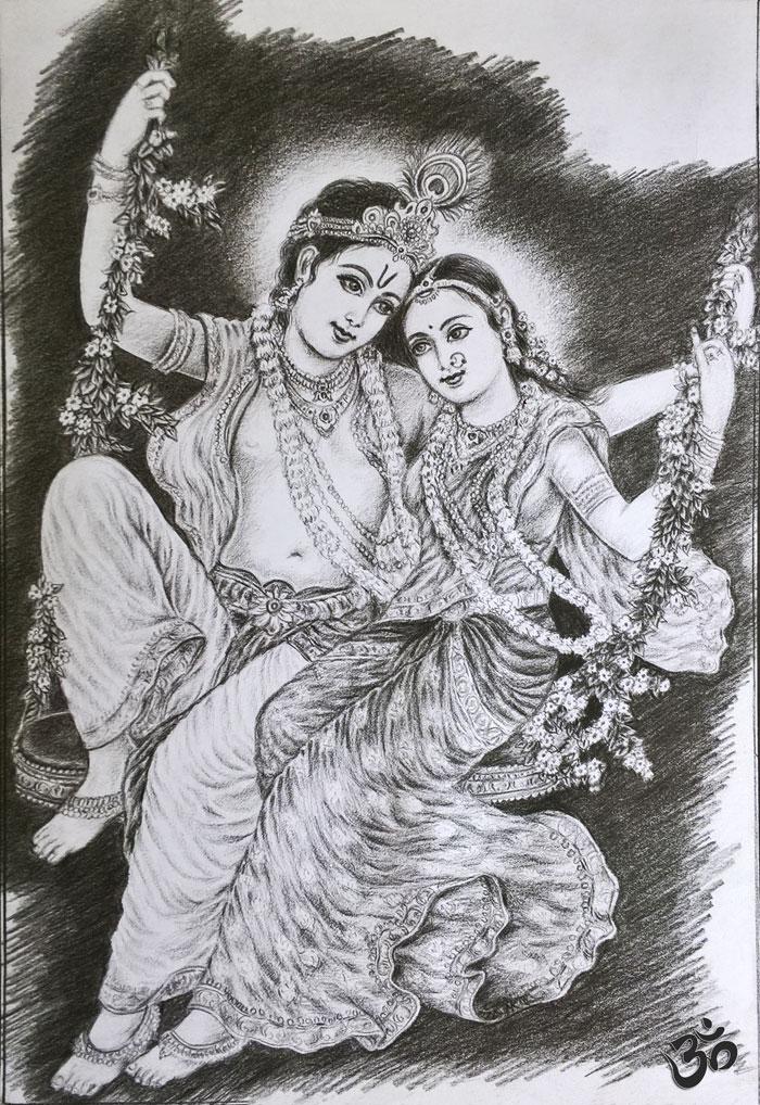 Radhe Shyam by artboy-narender