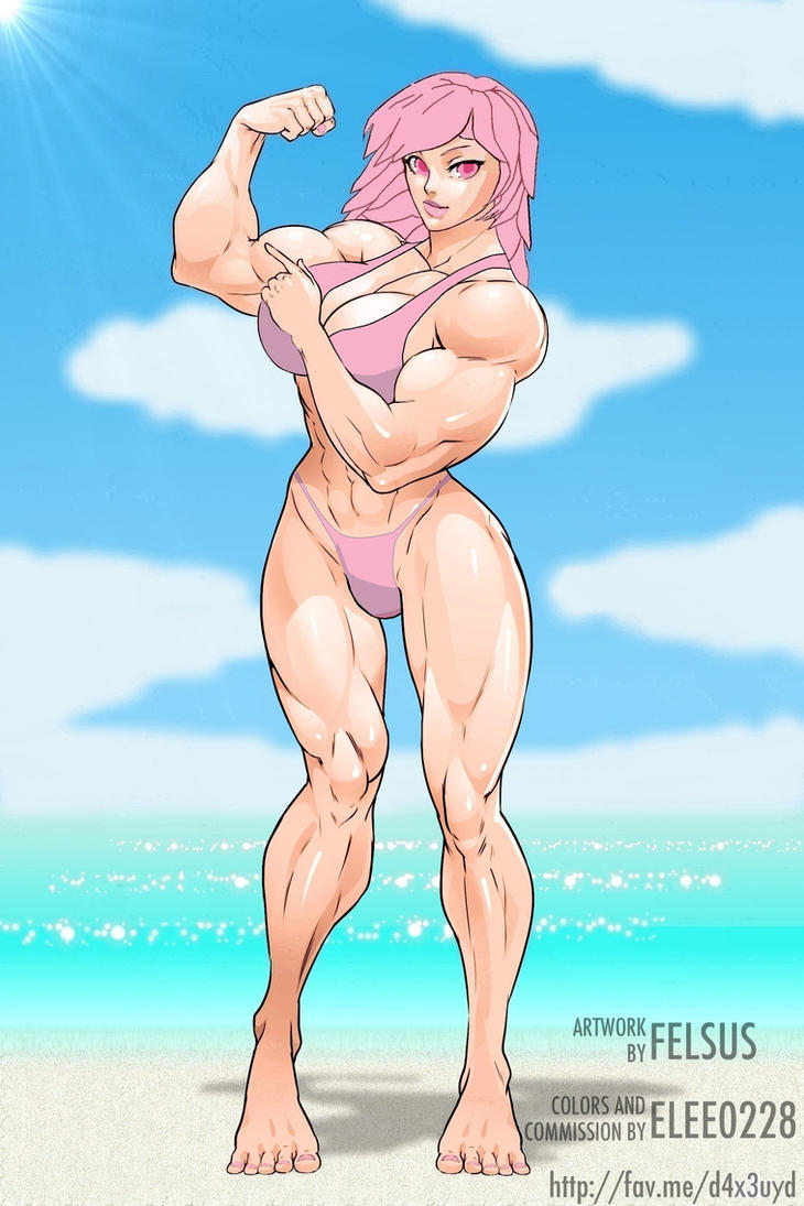 Dat Girl Is Pepto Bismol@Mad+Gear-Beach by KeirTanaka