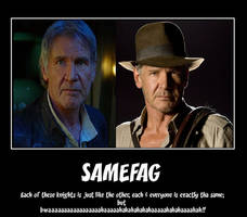 So Han Solo/Indiana Jones enter a cantina/bar...