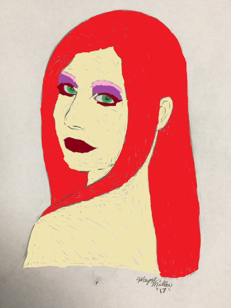 Beautiful Redhead by Rammsteinfan1994