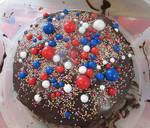 Chocolate sugar cake by Sia-Mon