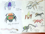 Non Vayamon Life- Spiders And Other Bugs by Sia-Mon