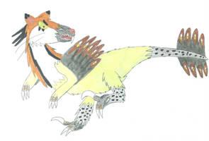 Vayamon 4: Feliraptor by Sia-Mon