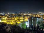 HDR Podgorica at night