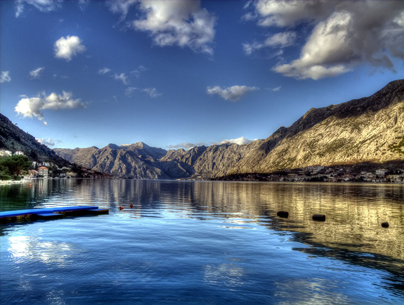 HDR Kotor bay by rade32
