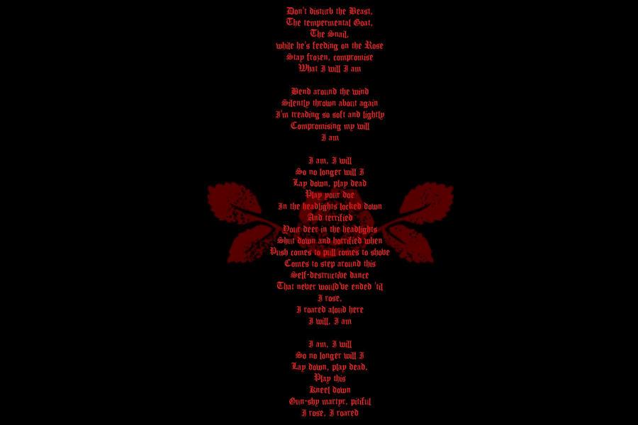Perfect Circle Wallpaper Rose lyrics: a perfect circleA Perfect Circle Lyrics Wallpaper
