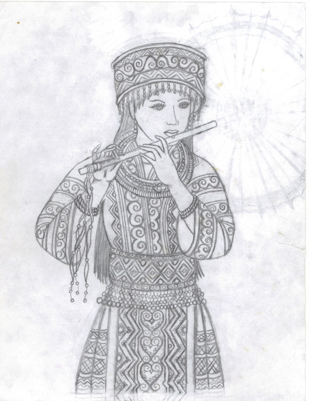 Hmong miao by yang20 on deviantart Hmong Paper Dolls Tongan Coloring Pages Ojibwa Coloring Pages
