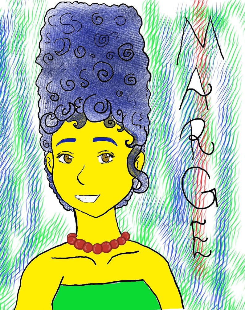 Marge Simpson by MagicWitch123