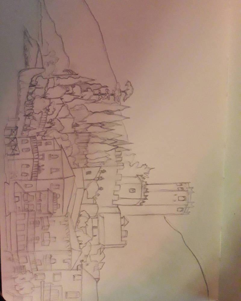 Scaligero Castle by adorablestejidos