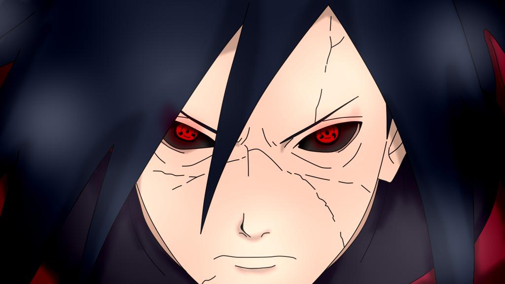 Madara Uchiha (Edo Tensei Sharingan) by KiraAndFuta on ... Naruto Madara Sharingan