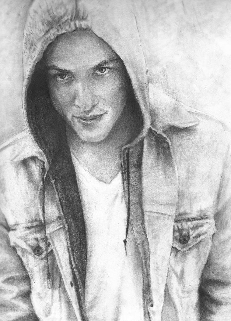 Michael Trevino 3 wip 3 by El-i-or