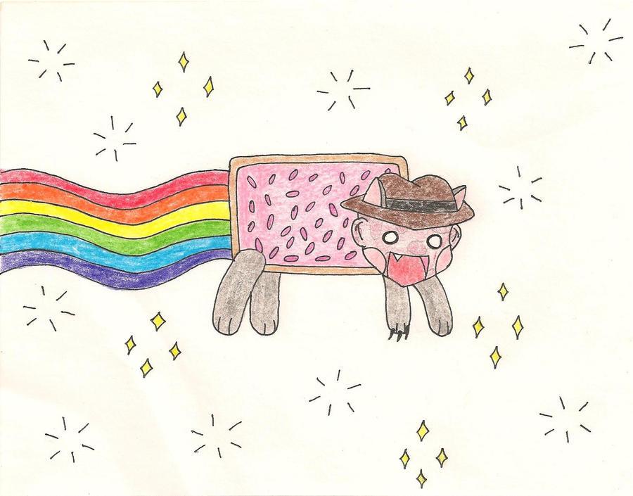 Nyan Nyan Freddy by GeistGirl