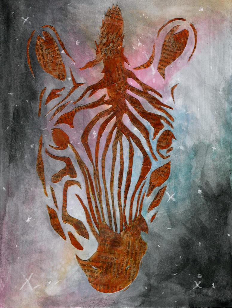 Galaxy Zebra by GeistGirl