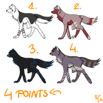 Wolf adoptables CLOSED