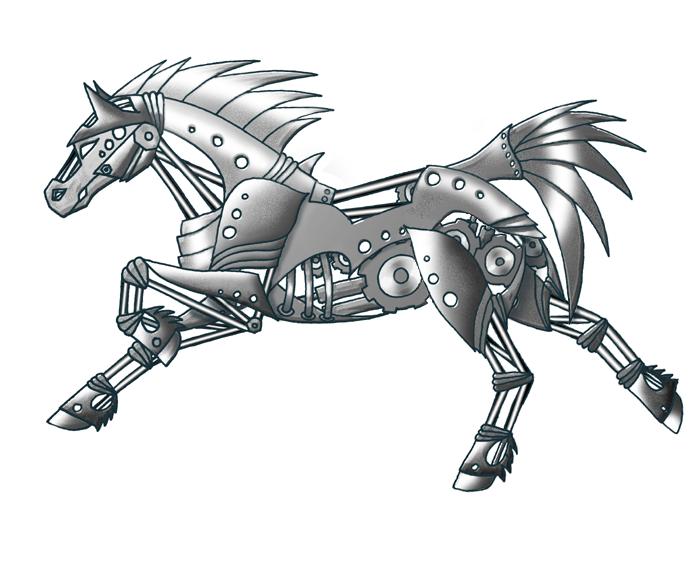 Deviantarts Robot Horse: Mechanical Horse By Shadee On DeviantArt