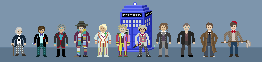 Mini Pixel Doctors by shadee