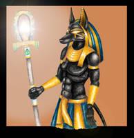 Anubis final by shadee
