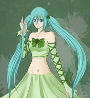 Daughter of Green by Melody-Musique