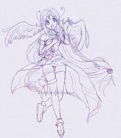 UTAU Koko Sketch by Melody-Musique