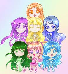 Rainbow Notes Ft.CHIBIS