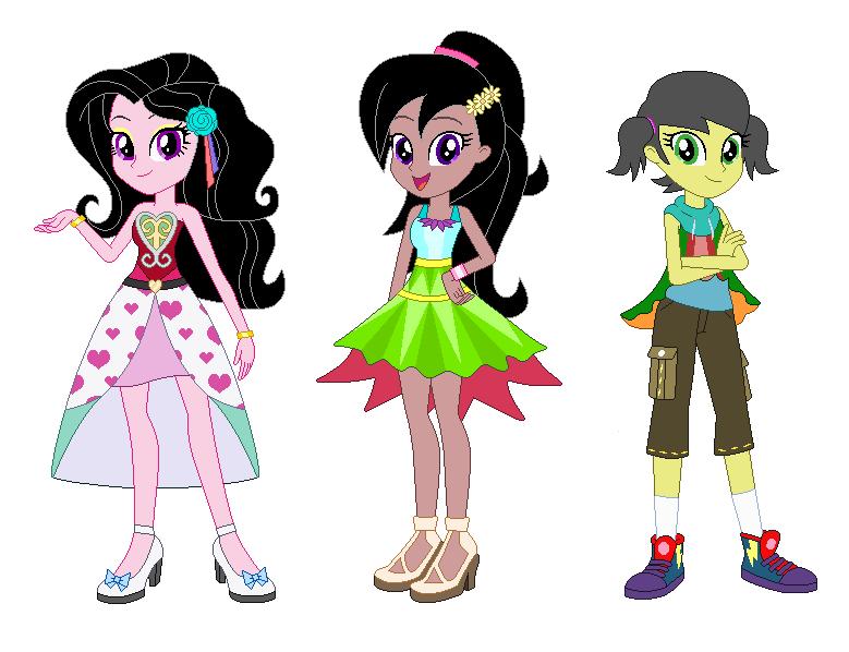 EQG Dance Magic OC (Girls) by Karalovely