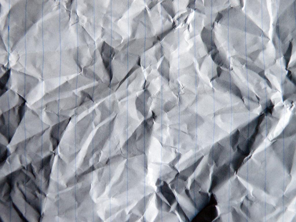 crumpled paper lines by ninja-pi