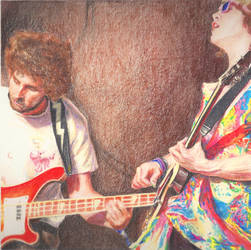 MGMT rocking out by Draw-Ben-Draw