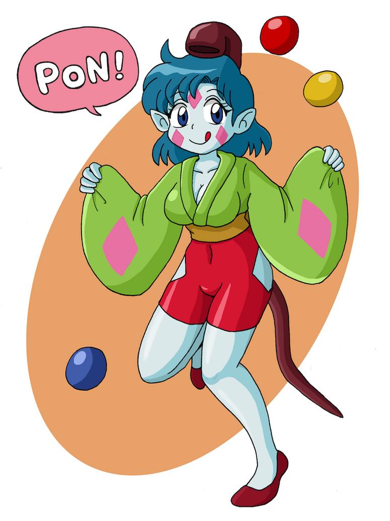 Ponko Ami by emanon333