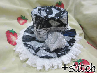 Black Lace Tophat
