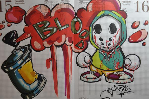 grafitti deneme 23 by gorefucking
