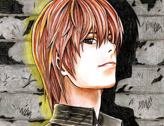 Light Yagami from Deathnote by happylilsquirrel