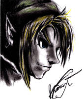 Link - Quick Sketch by happylilsquirrel