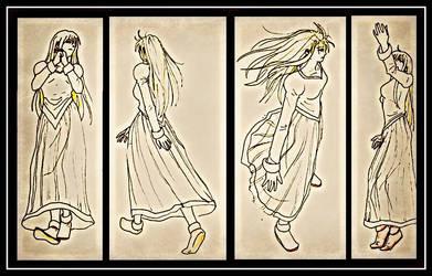 random pose references by happylilsquirrel