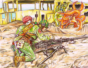 Battlefield - Naruto and Gaara