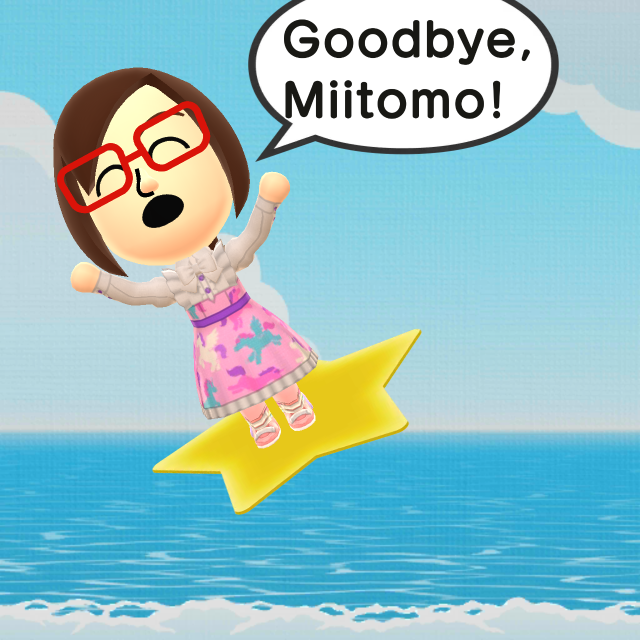 Flying Away from Miitomo by arrienne408