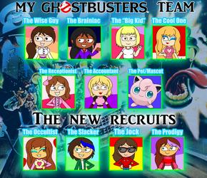My Ghostbusters Team Meme by arrienne408