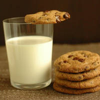 choco cookies with milk by olciakubus