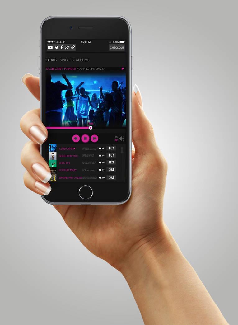 Music Player Website