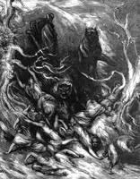 Slavic Mythology - Leszy by masiani