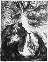 series of drawings Slavic Mythology - Perkun by masiani