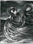 series of drawings Slavic Mythology - Zmij