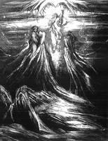 The New Testament illustrations - Transfiguration by masiani