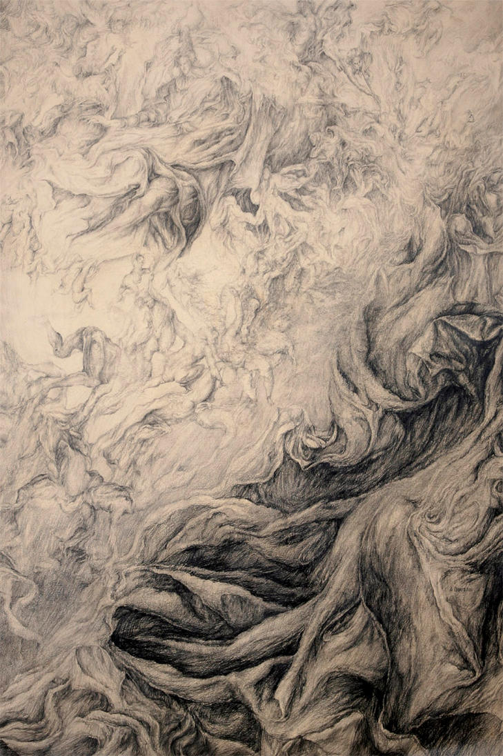 Apocalipsa drawing on paper by masiani