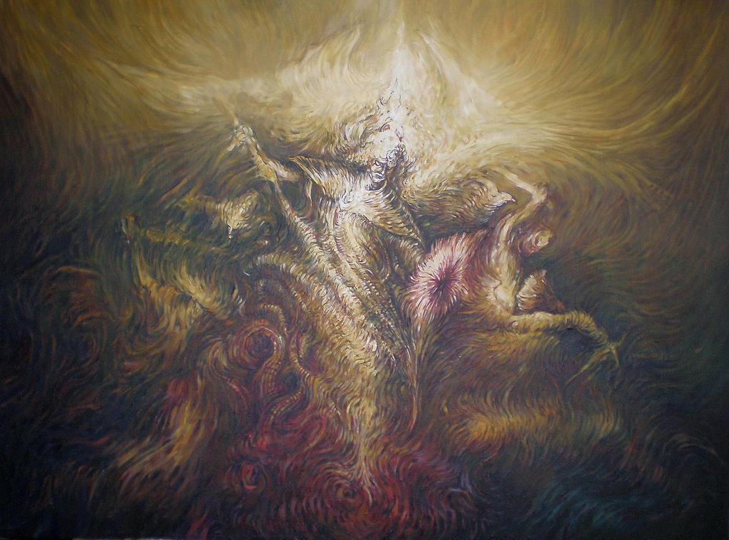 Archangel Michael by masiani