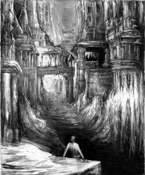 H.P. Lovecraft Music of Erich Zanna ilustrations