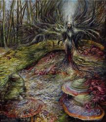 Medeina -Resurrection Prussian Goddess of forests