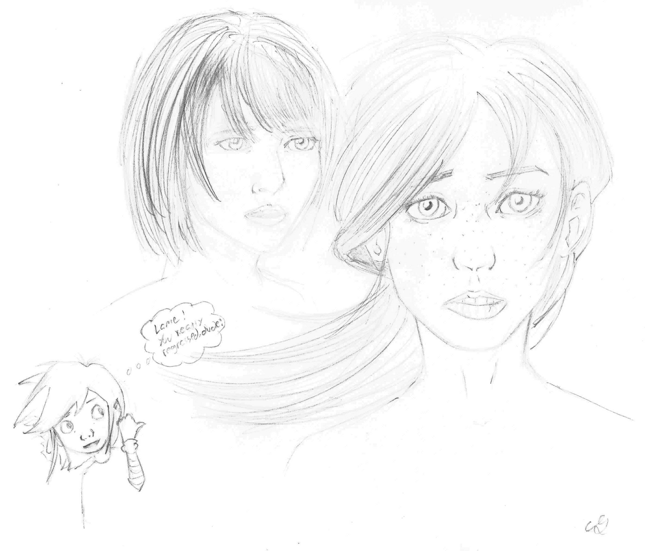 Creative Works Thread: DRAW THROUGH THE PAIN!! - Page 10 Sep__22_practice_by_mrunfortunate-d9aqv7j